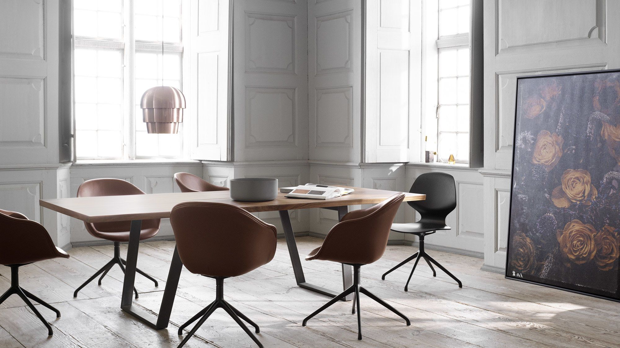 Vancouver Table With Supplementary Tabletop Dining Chair Design