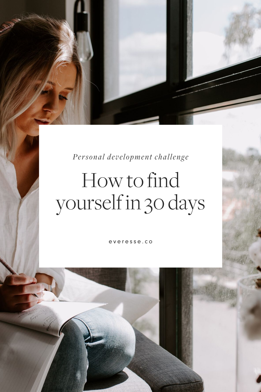 Personal development challenge: how to find yourself in 30 days