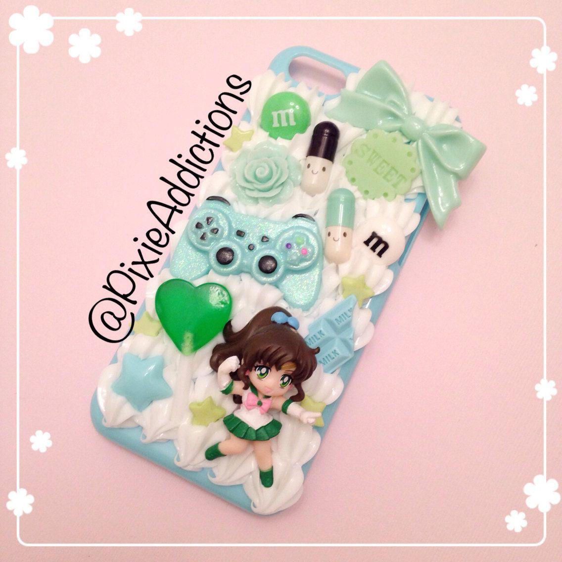 size 40 886bd 65547 Kawaii Sailor Jupiter Decoden iPhone 5c Case   Things I really ...