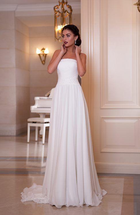 watch 2f90c fd839 Abito da sposa per il rito civile, semplice ed economico ...