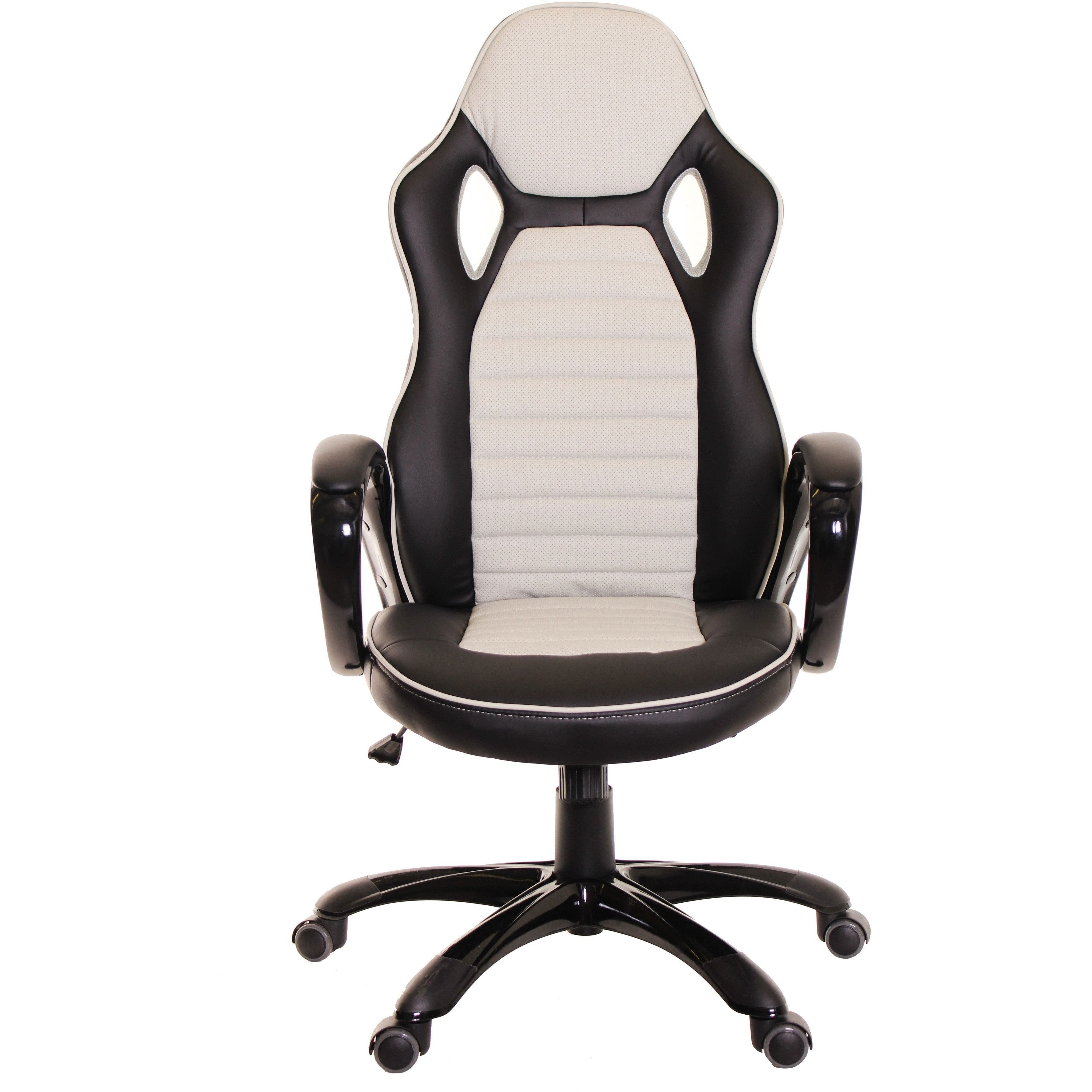 Race car style office chair gaming ergonomic leather chair by time