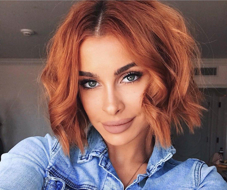Copper bob | Copper bob hair, Copper hair color