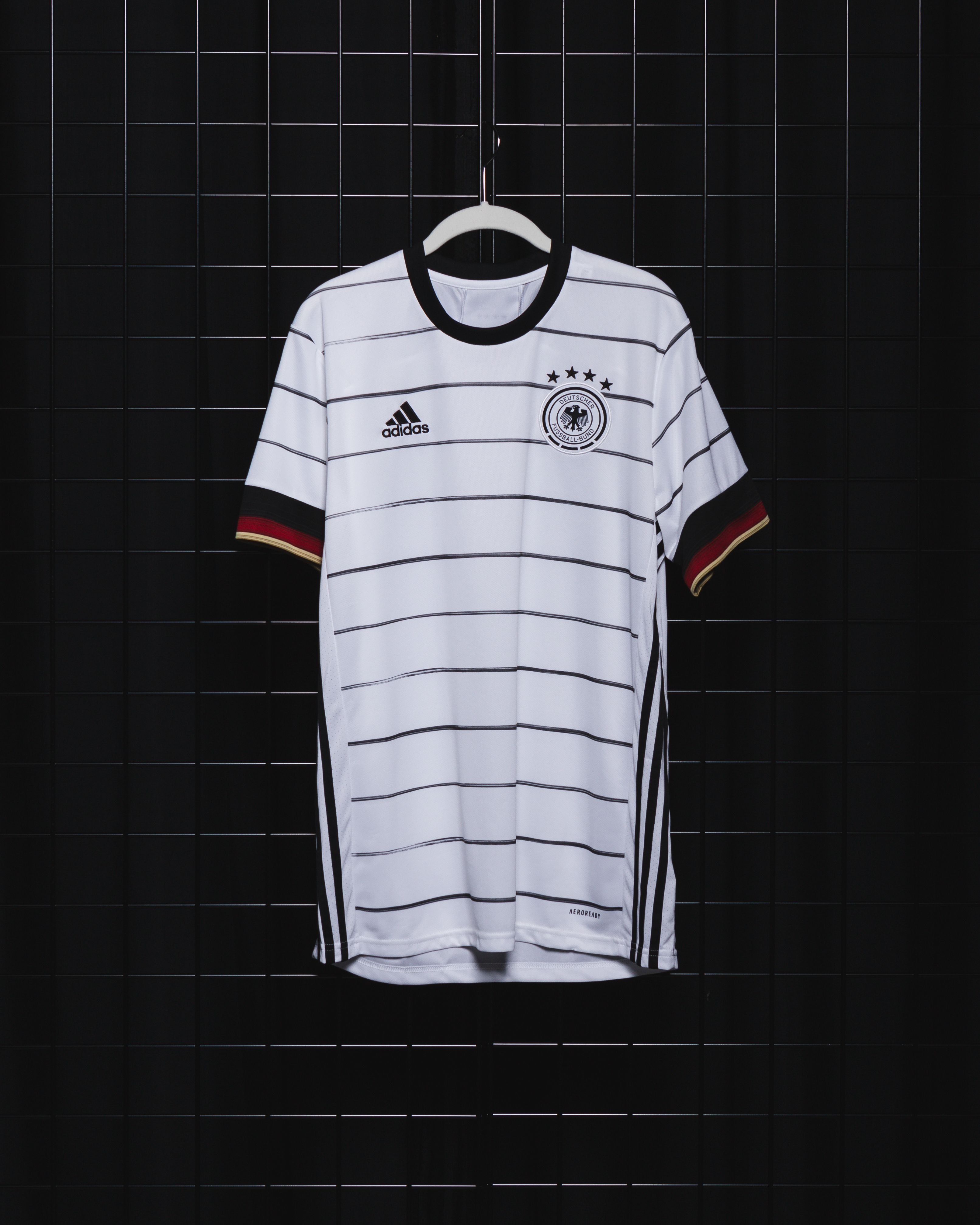 Adidas Germany Home Jersey Replica 2020 In 2020 Sew On Badges Germany Kit Jersey