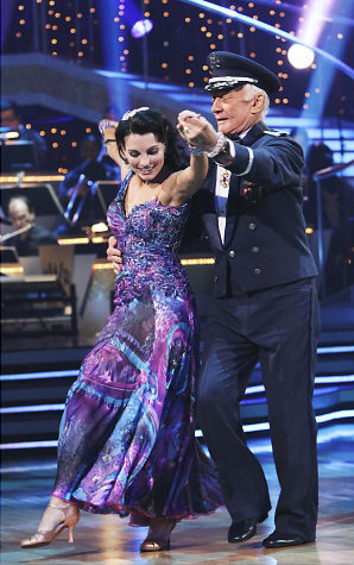 Dwts Season 10 Spring 2010 Buzz Aldrin And Ashly Costa Formal Dresses Long Fashion Formal Dresses