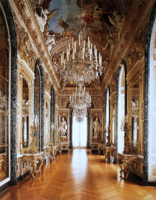 Schloss Herrenchiemsee Germany Castles Interior Palace Interior Beautiful Buildings