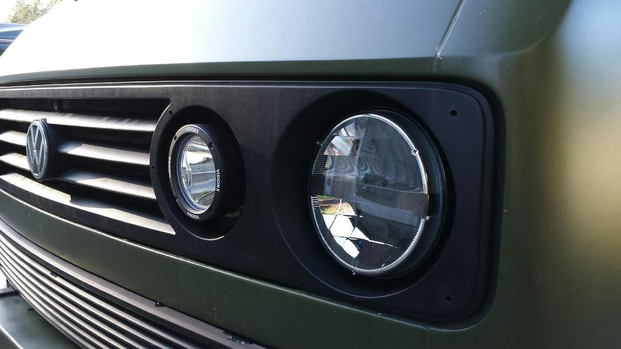 Led Headlights On The Das Mule Vanagon Syncro Westy