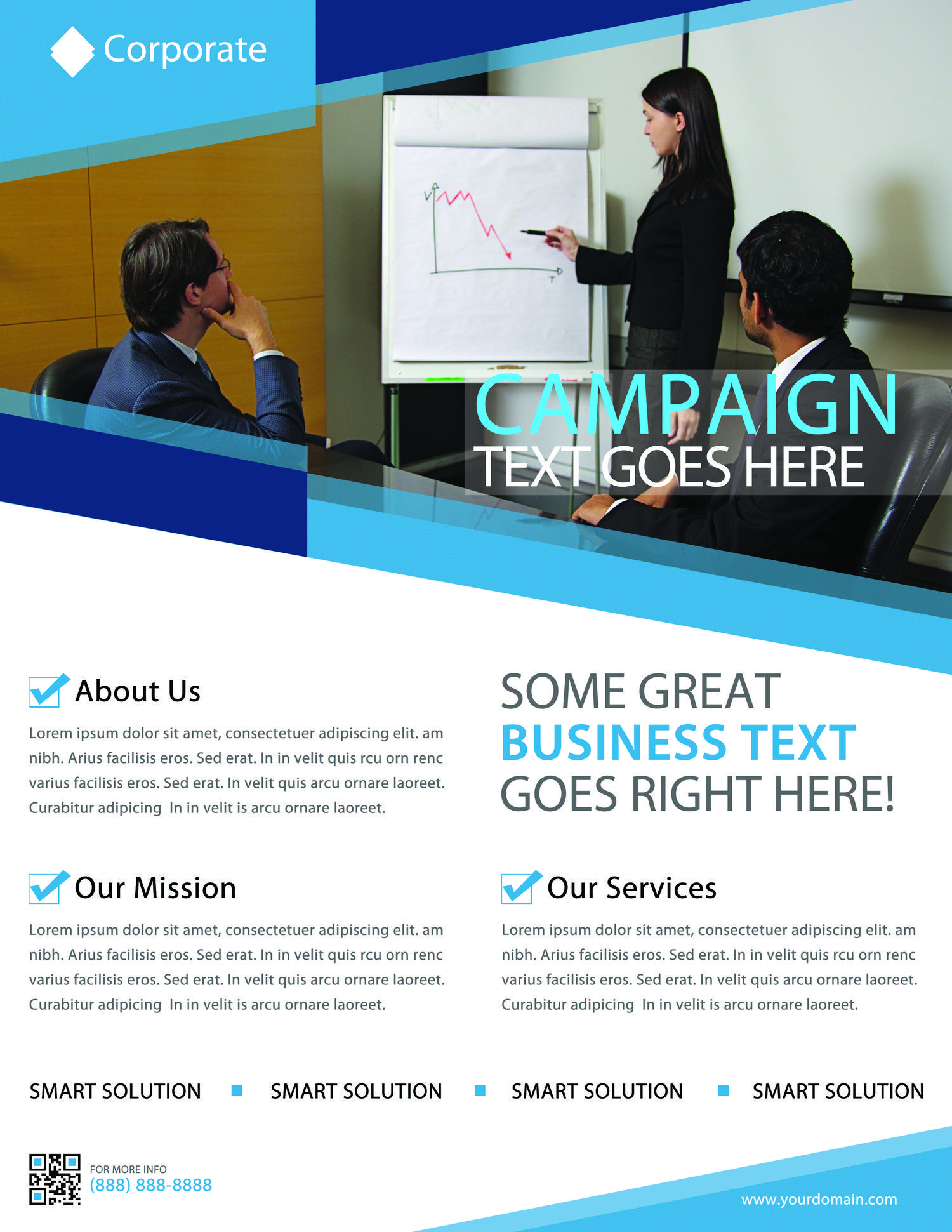 Professional Corporate Flyer Designs By Letsjustde   Envato