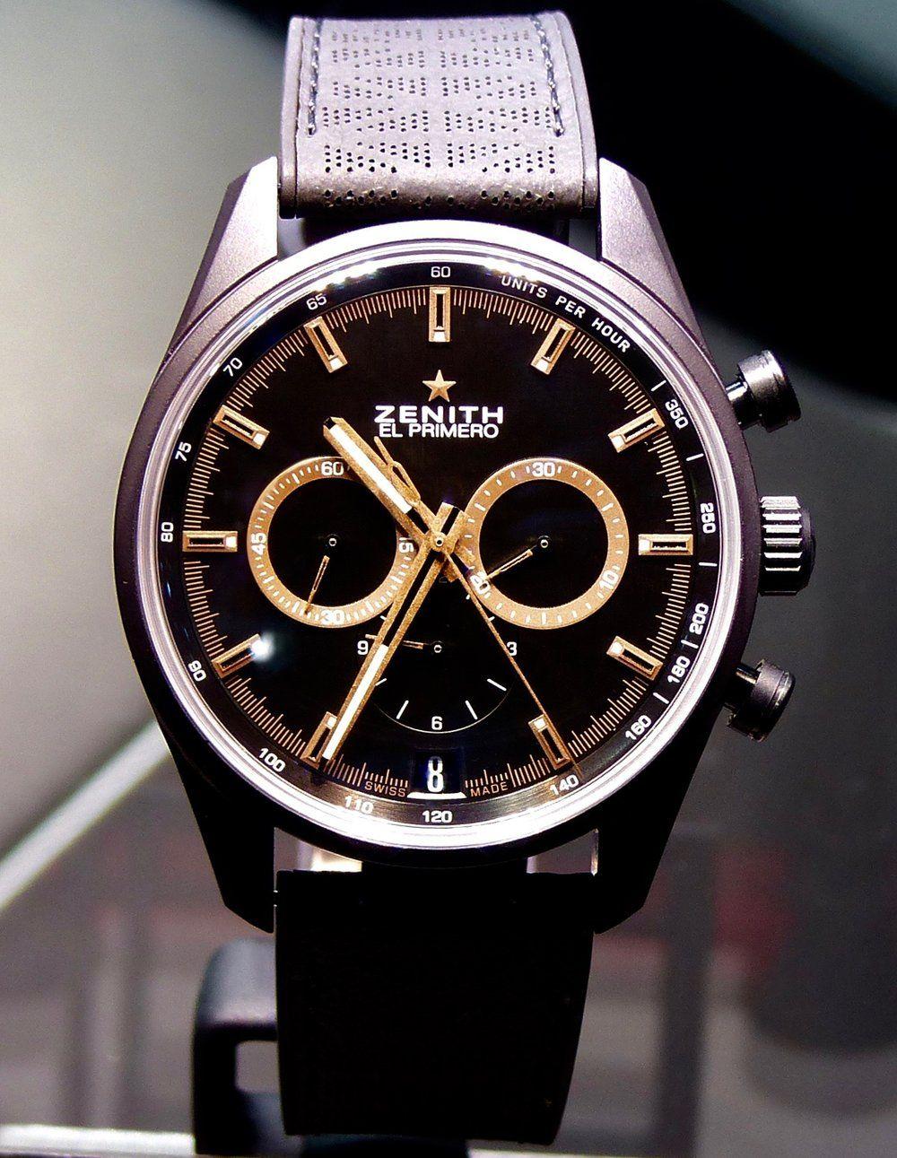 08960d0692f ZENITH   LAND ROVER « CHRONOMASTER EL PRIMERO RANGE ROVER VELAR Special  Edition » — w4watch