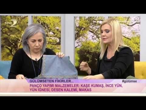 Derya Baykalla Gülümse Bebek Panço Yapılışı