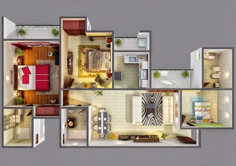 3d House Floor Plan High Definitioneasy Ways To