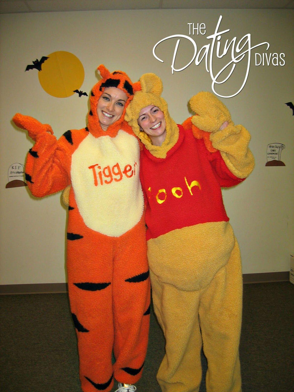99ed9d4d62c2 Pooh and tigger. Erika - Couples Halloween Costume 9