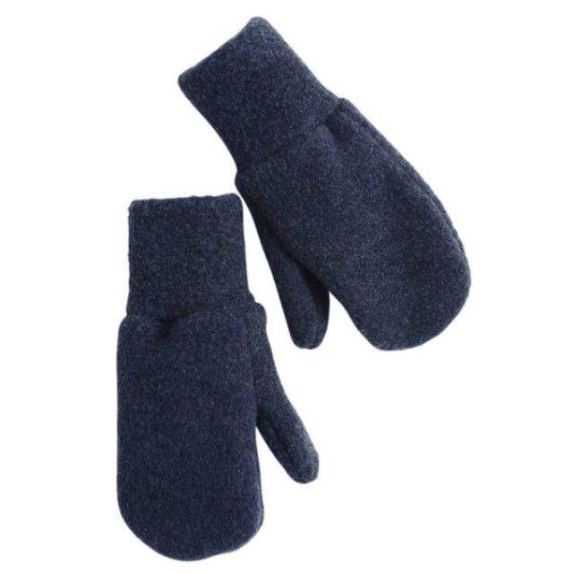 Wollfleece-Handschuhe.