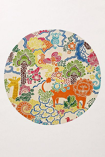Anthropologie Dream Menagerie Rug For Playroom