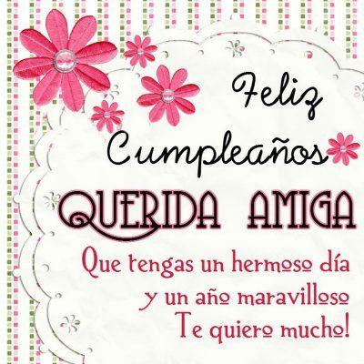 Frases Para Desear Feliz Cumpleanos A Una Amiga Muy Especial Happy Birthday Grandma Happy Birthday Grandma Quotes Happy Birthday Dear