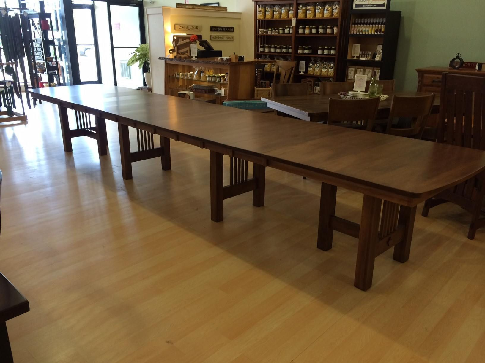 hartford trestle extension table  large dining room table