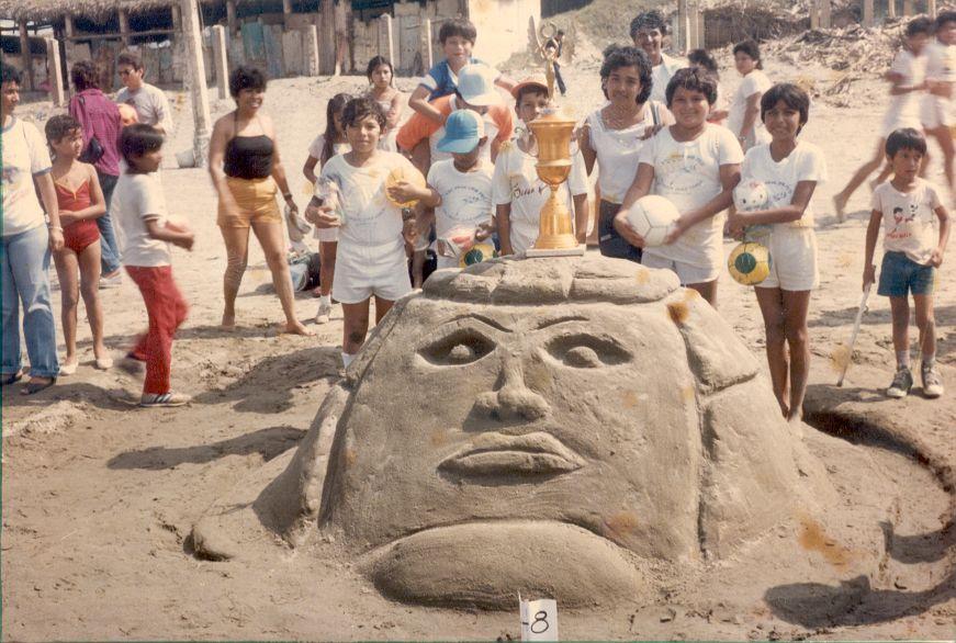 Cabeza Olmeca 1986