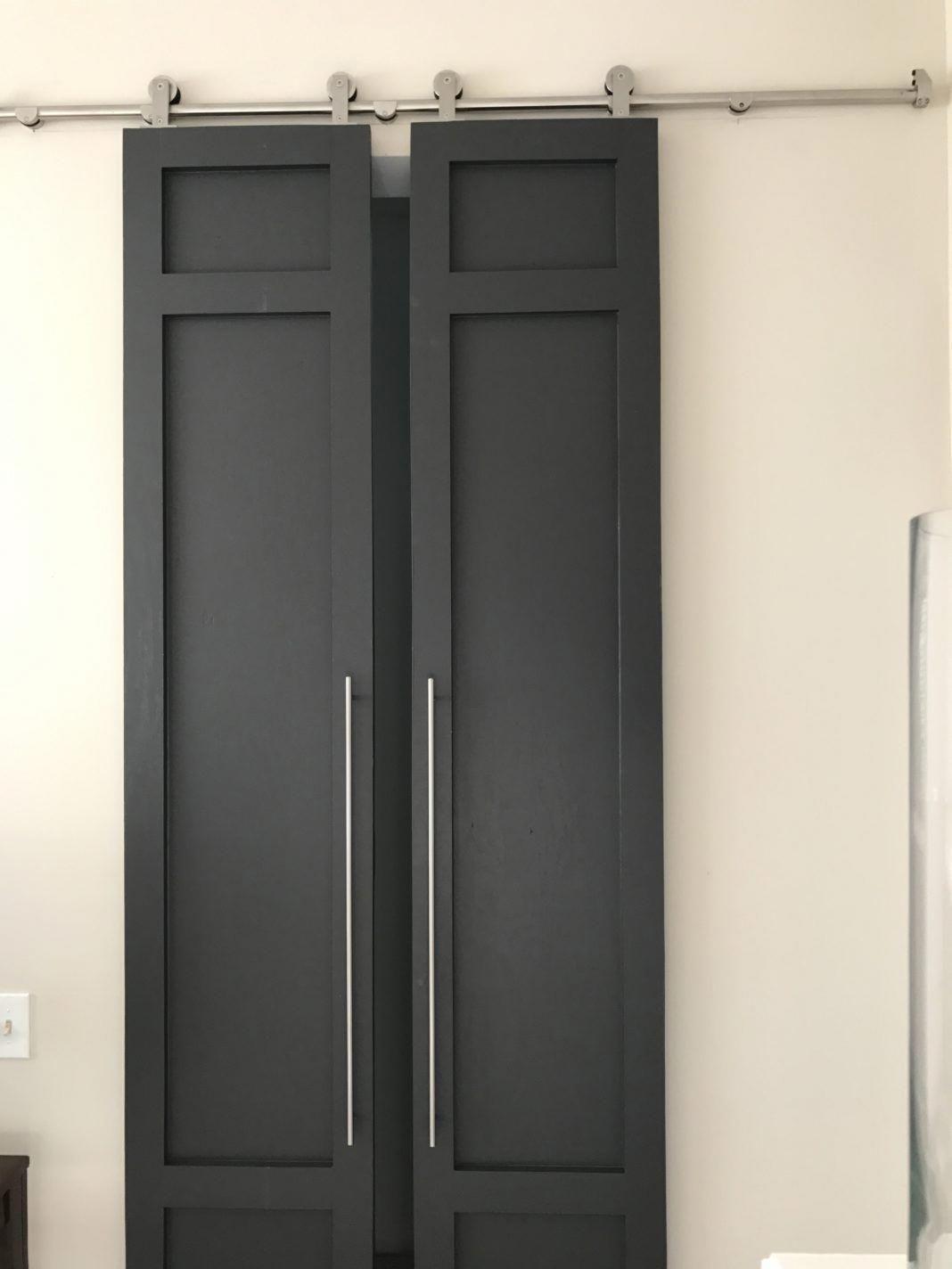 Double Barn Door Hardware Decorative Interior Barn Doors