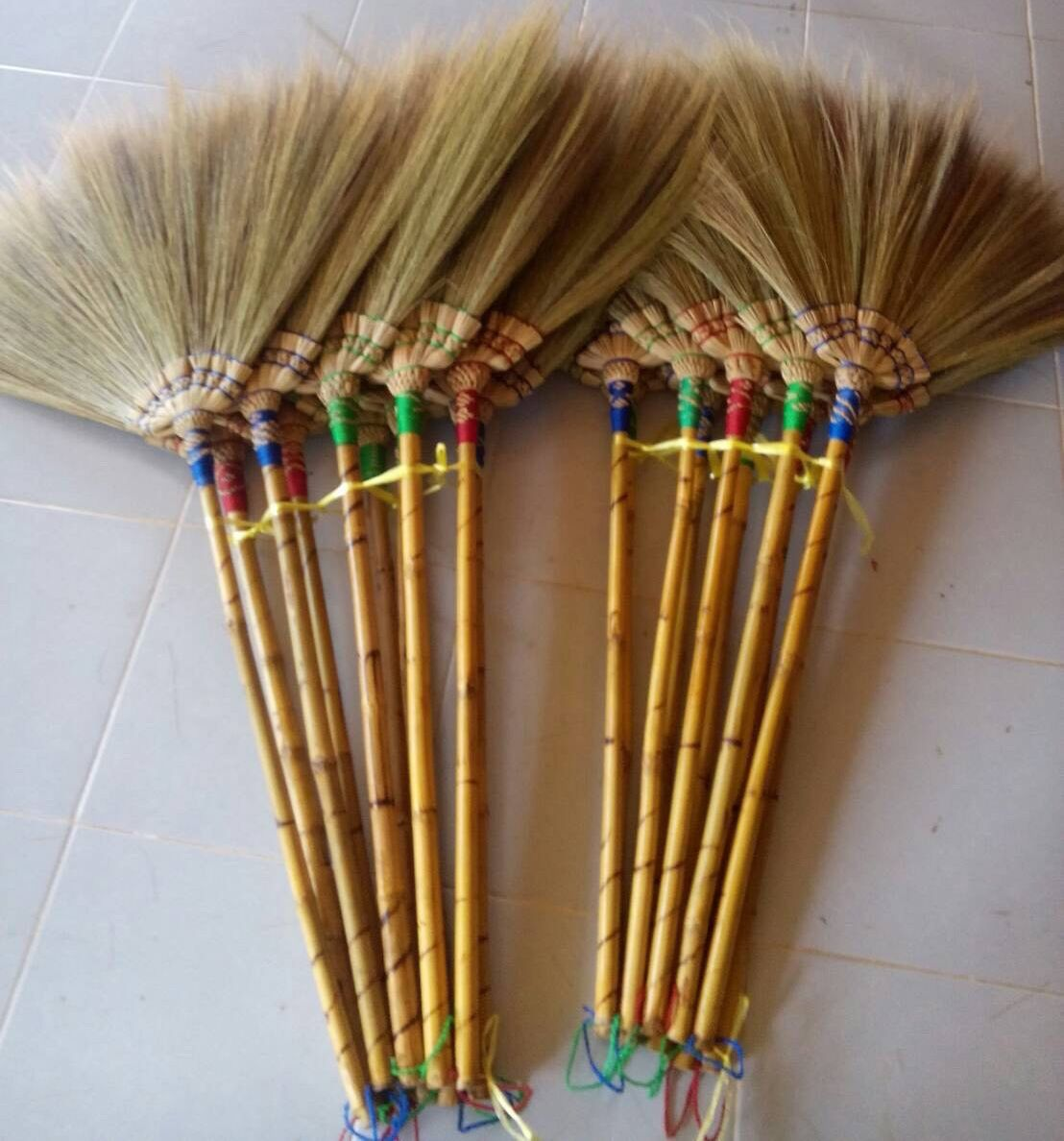 Excited To Share The Latest Addition To My Etsy Shop Thailand Flower Broom With 100 Original Thailand Handmade And E Brooms And Brushes Handmade Broom Broom