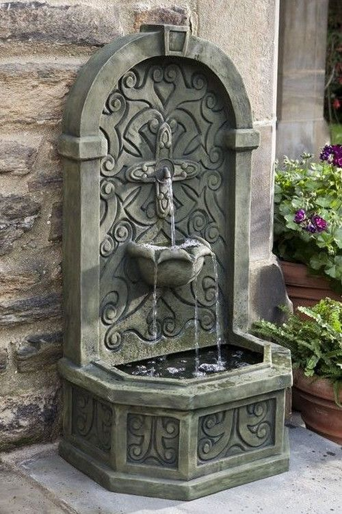 Large Outdoor Wall Fountains