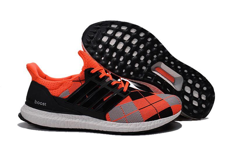 3922ff64d 2017 UK Trainer Kris Van Assche x Unisex Adidas Ultra Boost Kris Van Assche  Orange Black