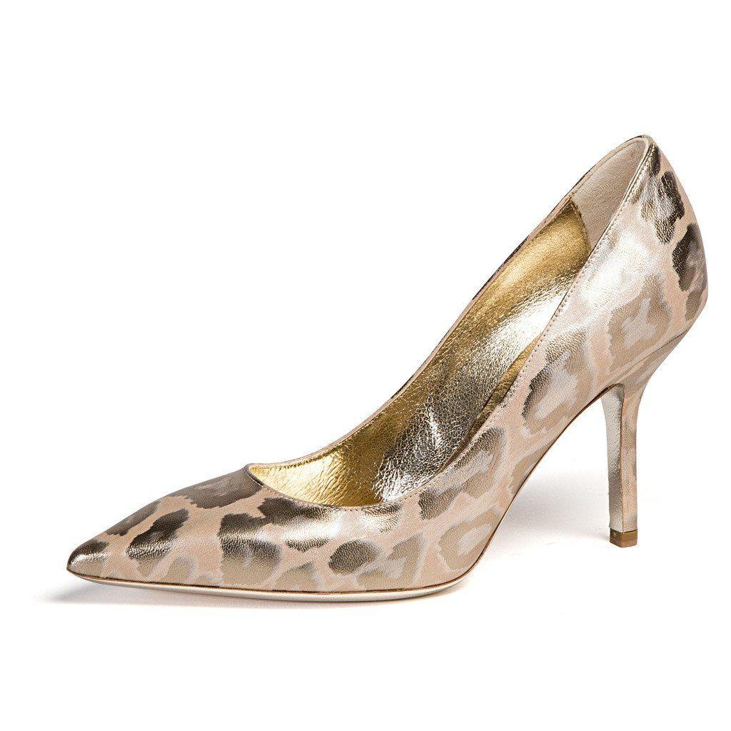 Emily Metallic Leopard