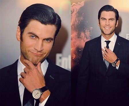 Wes Bentley  @Christina Walrath just mess up his hair a little