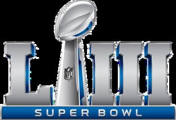 February 3 2019 Super Bowl Liii The 53rd Super Bowl And The 49th Modern Era National Football League Nfl Champ Superbowl Logo Super Bowl Super Bowl Props