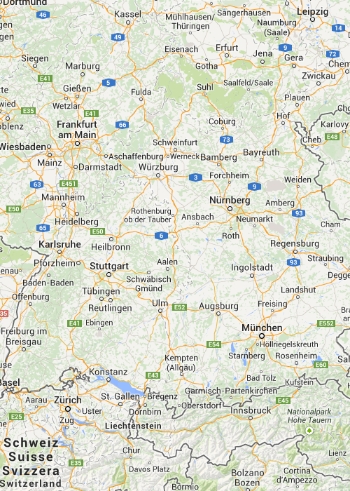 Landkarte Bayern Karte Von Bayern Mit Strassenverzeichnis Und Satellitenperspektive Bamberg Landkarte Bayern Bayern Karte Landkarte