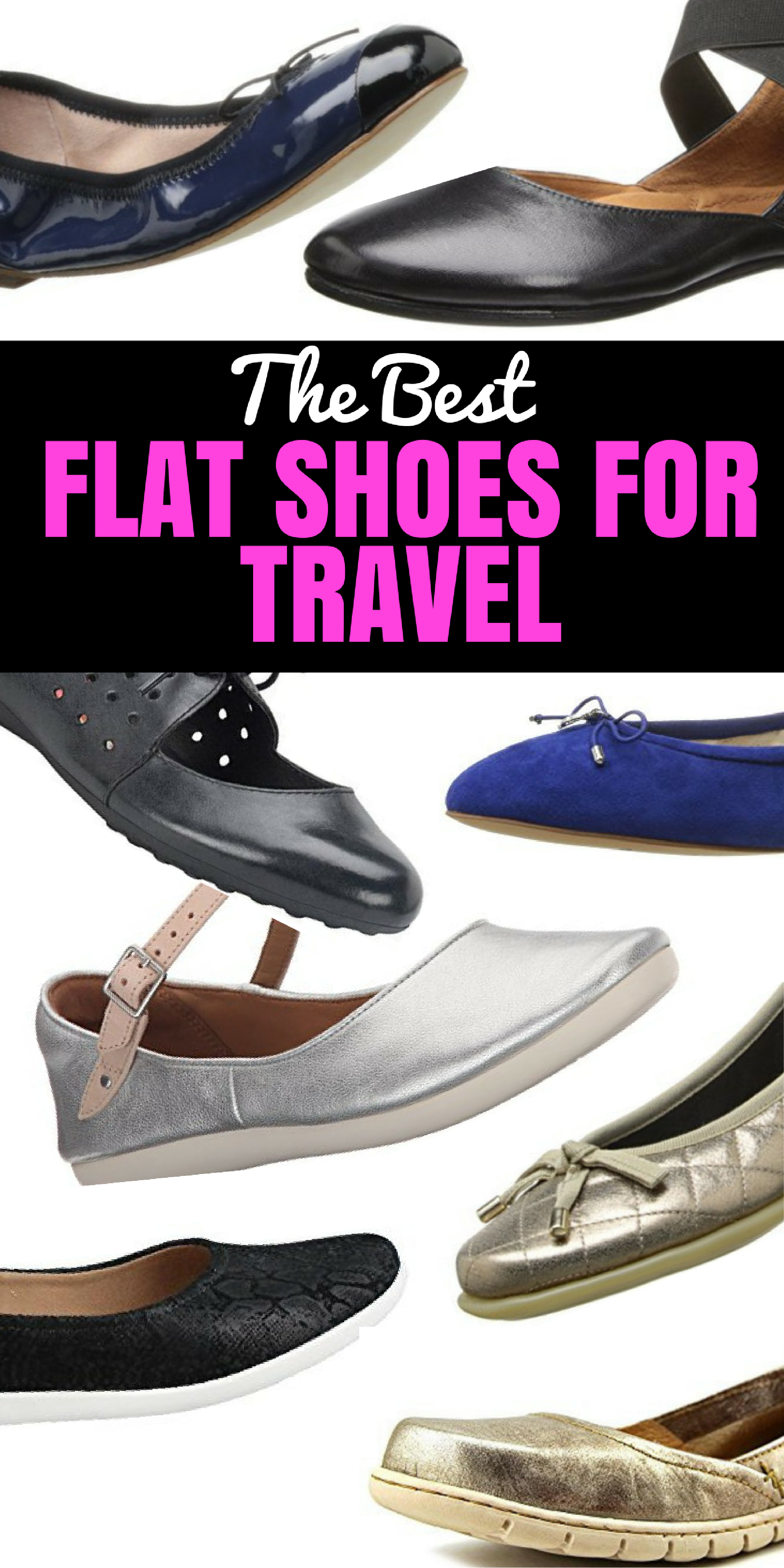 Comfortable Flat Shoes For Travel