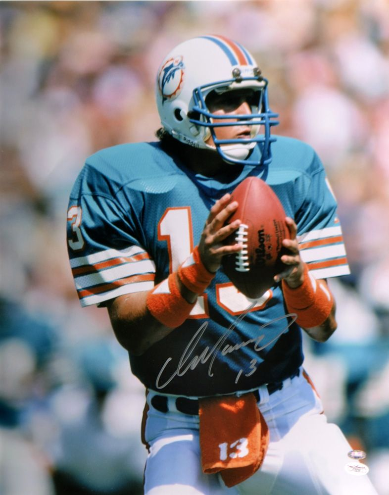 Autographed dan marino photos nfl signed photo picture