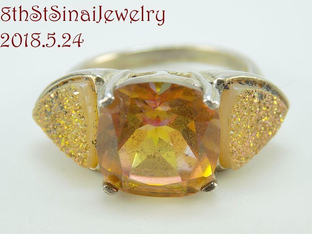 Jtv Diamond Rings >> Retired Jtv Bbj Sterling Silver 925 Spessartite Garnet