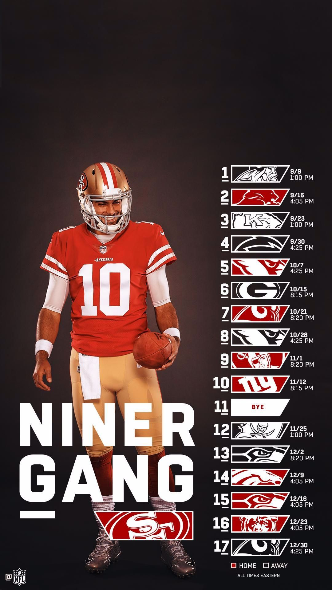 49ers Wallpaper 49ers in 2020 49ers, San francisco