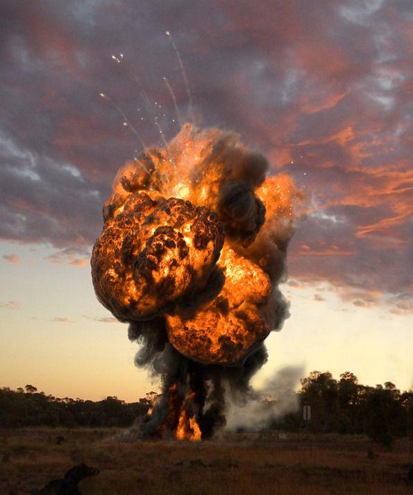 Ueli Alder Photography Explosion Photo