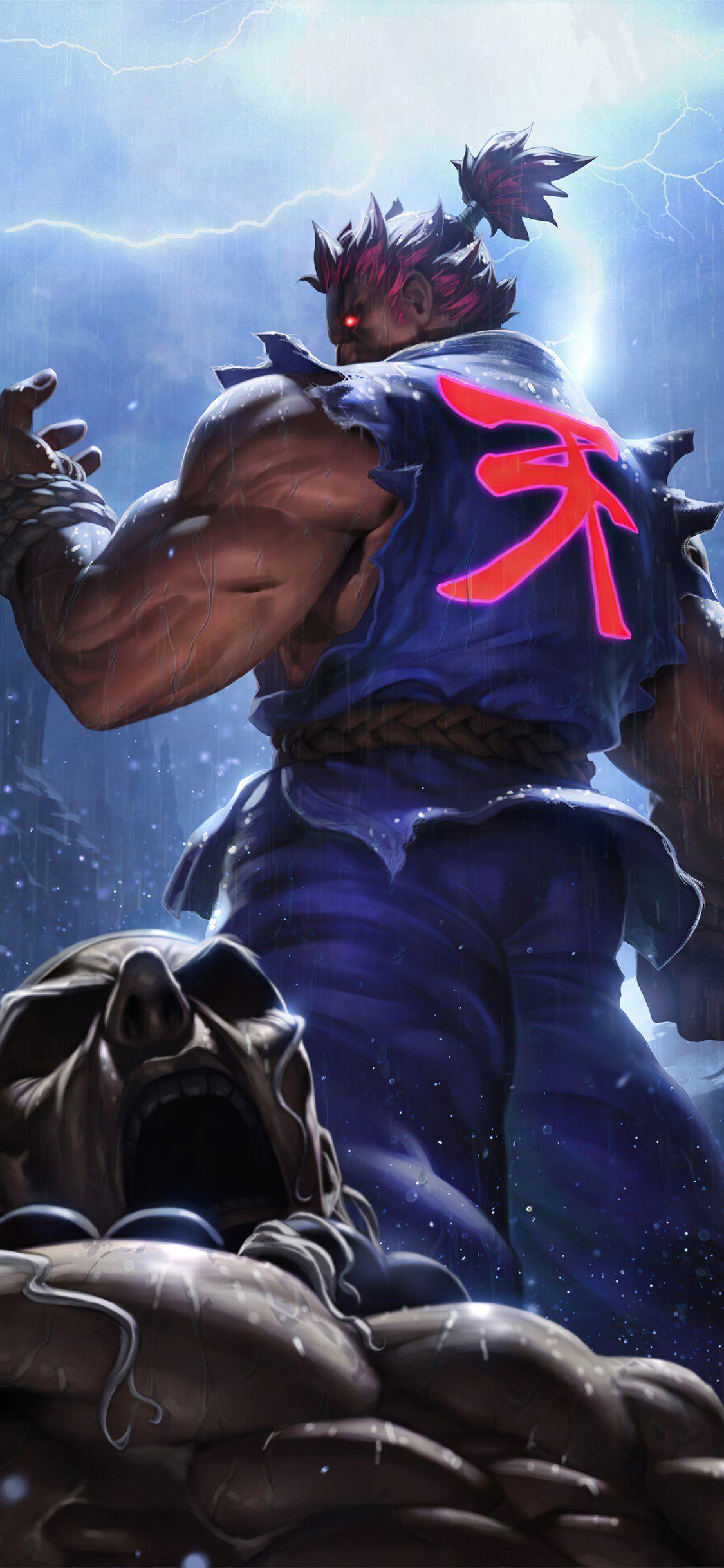 Akuma Street Fighter Game 4k Streetfighterv Games 2019games 4k Artstation Iphonex Street Fighter Wallpaper Street Fighter Characters Akuma Street Fighter