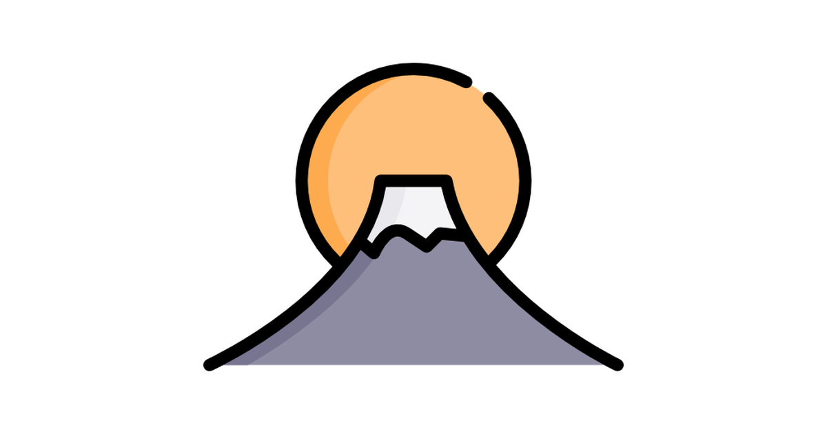 Mount Fuji Free Vector Icons Designed By Freepik Japan Icon Vector Icon Design Icon