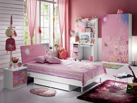 دهانات غرف اطفال حديثة دهانات غرف نوم بنات الوان اوض اطفال 2018 Bed Furniture Design Bedroom Furniture Design Girls Bedroom Sets