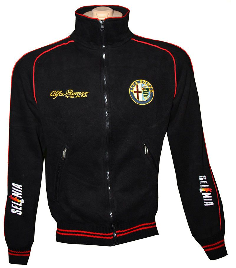 Details About Alfa Romeo Fleece Jacket Polar Coat Outdoor