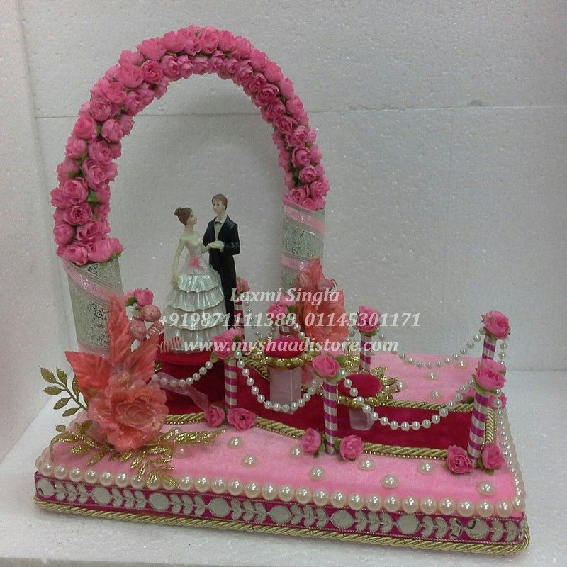 Indian Wedding Tray Decoration: Rs.3500 Wedding Ring Ceremony Trays. For Order Mail Us On