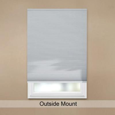 Home Decorators Collection Shadow White 9/16 In. Blackout Cordless Cellular  Shade   23 In. W X 48 In. L (Actual Size 22.625 In. W X 48 In. L)