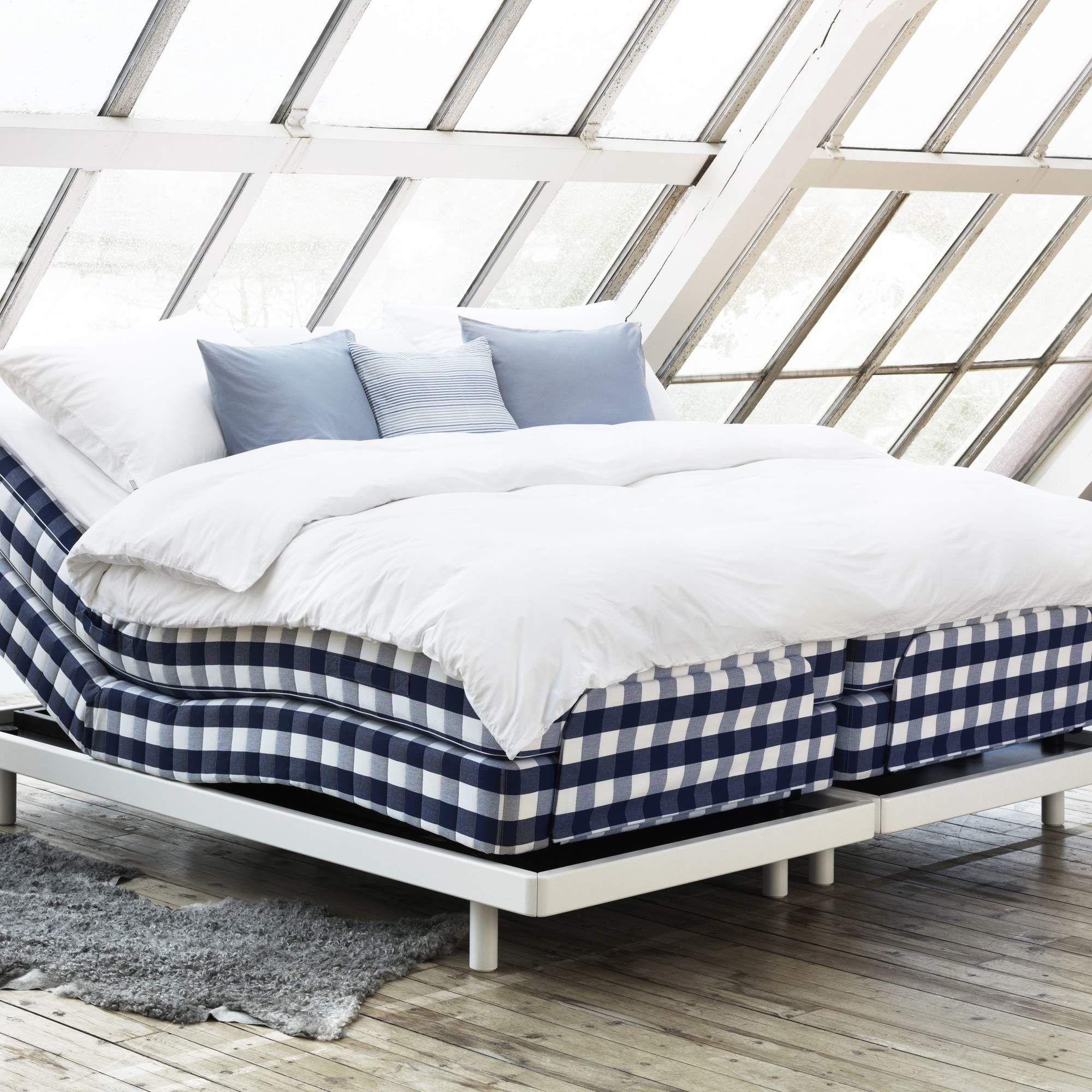 Hastens bed Adjustable beds, Furniture, Hästens bed