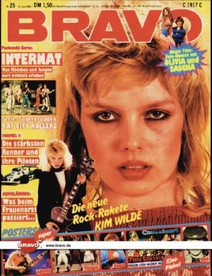Bravo 25/81, 11.06.1981 Kim Wilde