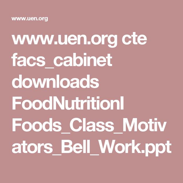 www.uen.org cte facs_cabinet downloads FoodNutritionI ...