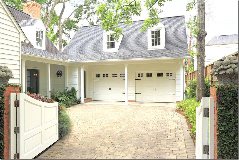 Pretty Side Entry Connecting Garage To House House Exterior