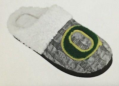 Womens Oregon Ducks Letter Slipper Hard Sole size S 6 / 7 NWT