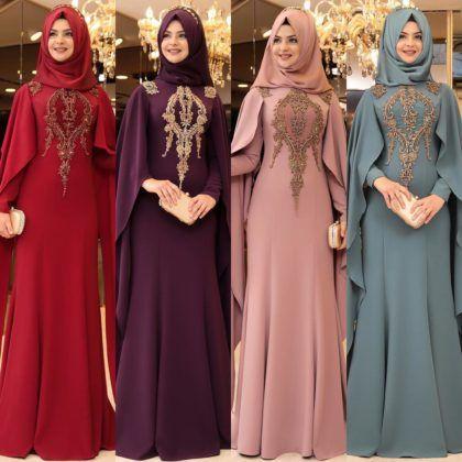 2018 Pinar Sems Abiye Modelleri Hijab Fashion Muslim Dress Muslimah Fashion