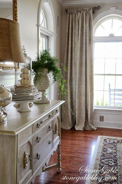 DINING ROOM CURTAINS Küche und Ideen - vorhänge für wohnzimmer