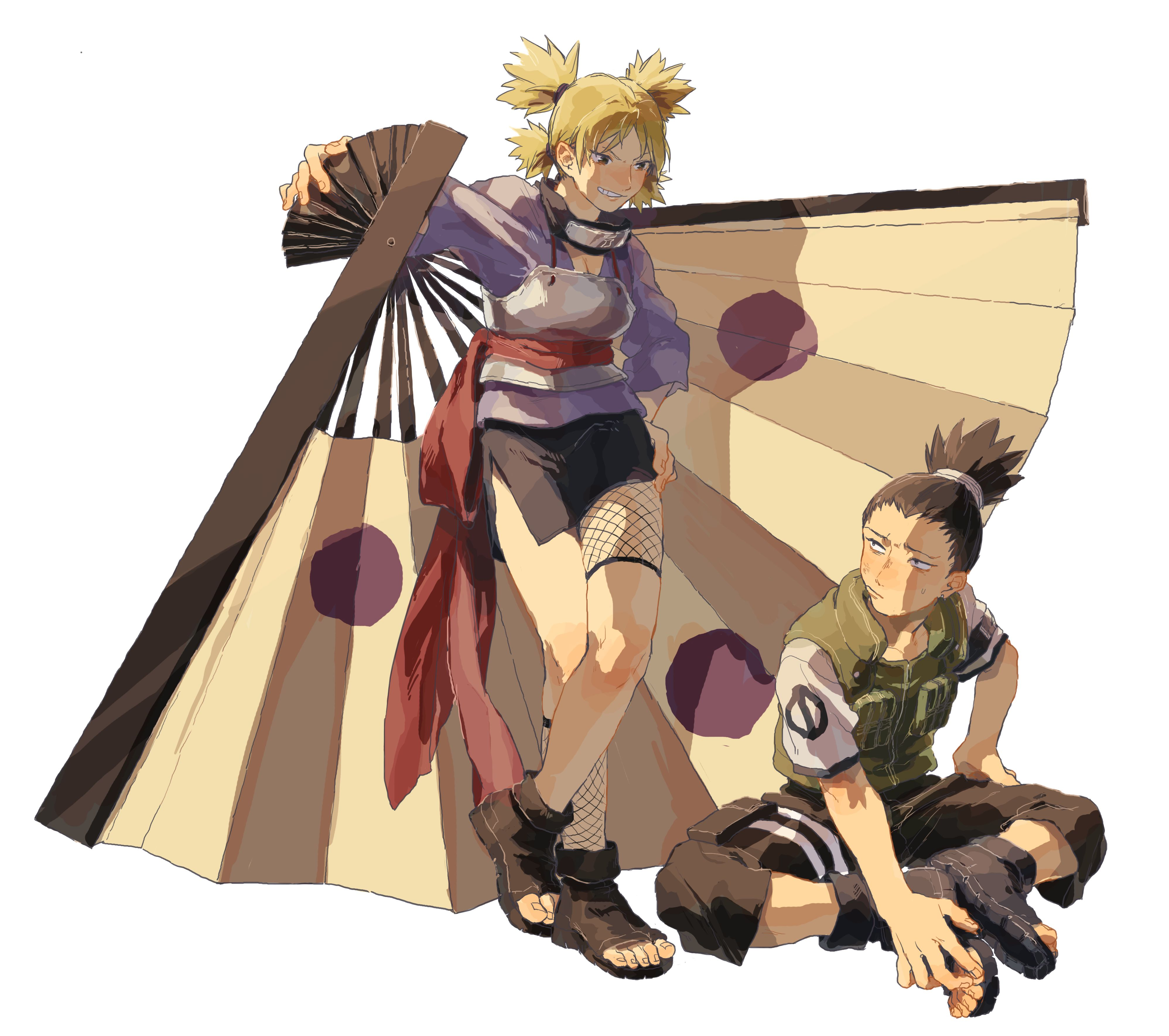 Temari and Shikamaru | The sand siblings | Pinterest ...
