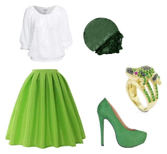 """""""Princess and the frog"""" by niki-lear on Polyvore featuring Chicwish, Bling Jewelry and Lancôme"""
