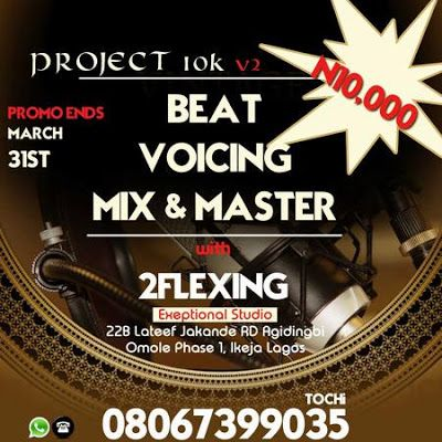 #Project10k Freebeat - Beat South [ Prod. by @2Flexing ]