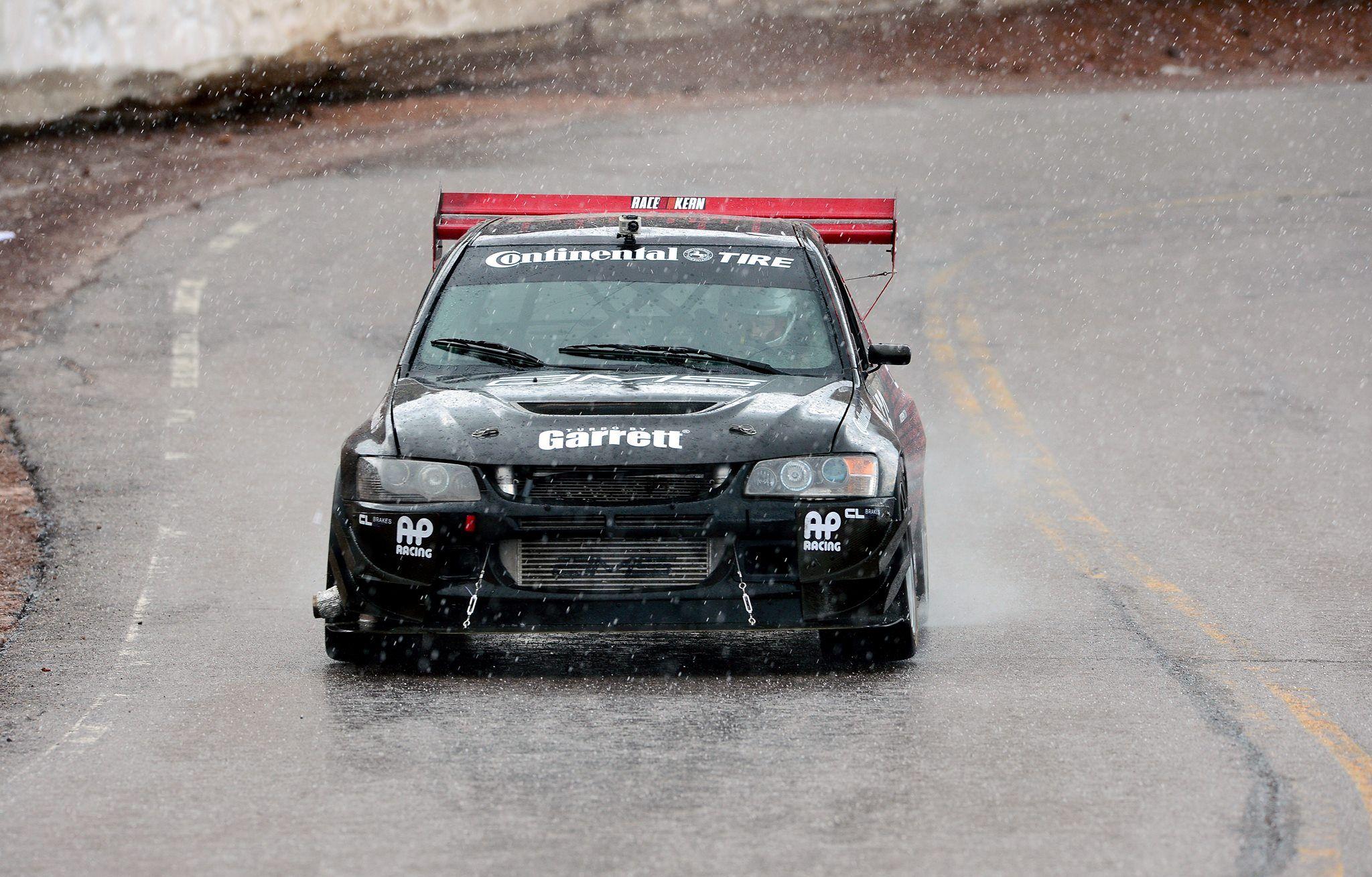 Mitsubishi Lancer Evo IX Time Attack Car